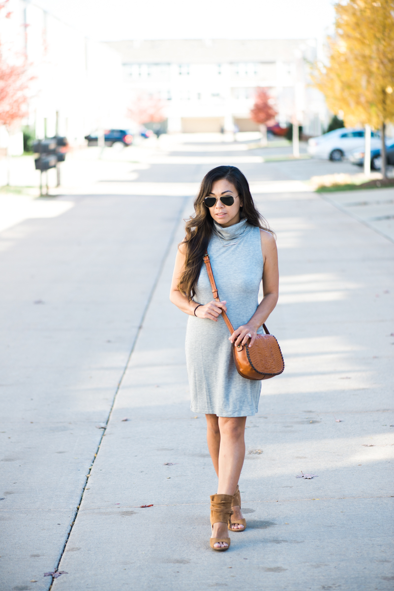 turtleneck dress patricia nash salerno bag
