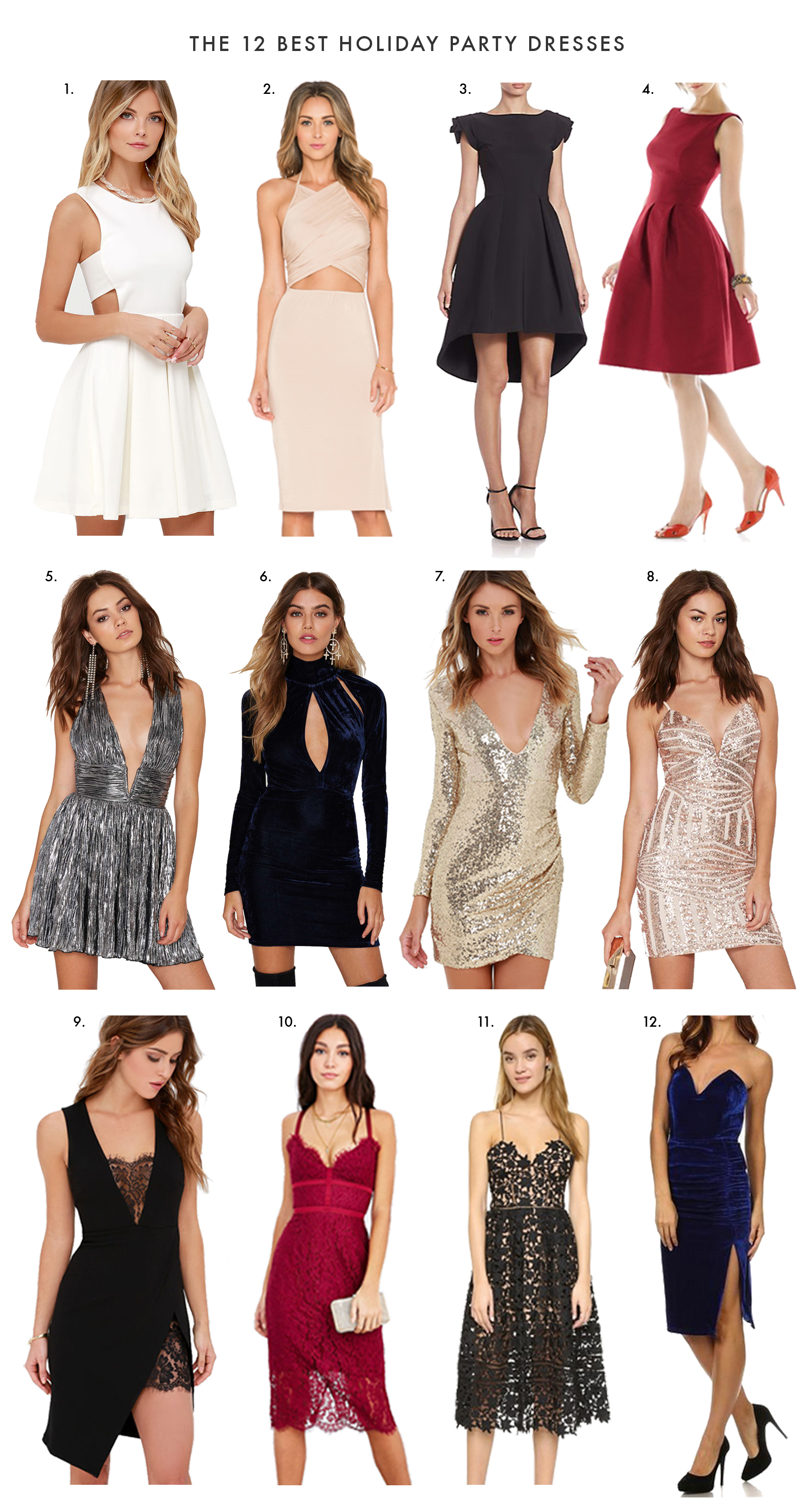 Holiday Party Dresses_112315