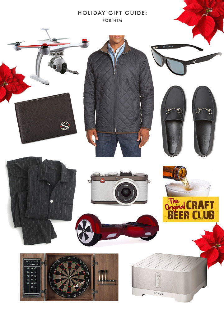 Holiday Gift Guide For Him 120915