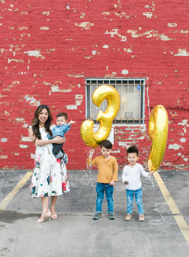 mom to three turning 39