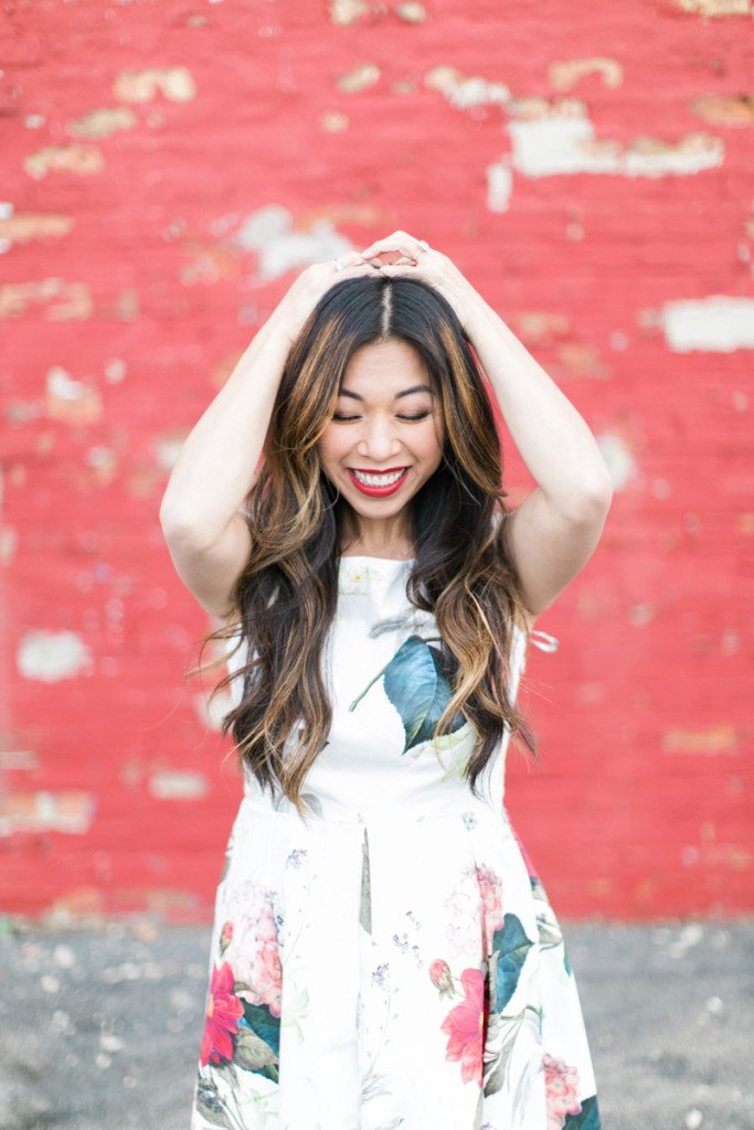 how to curl and style long asian hair