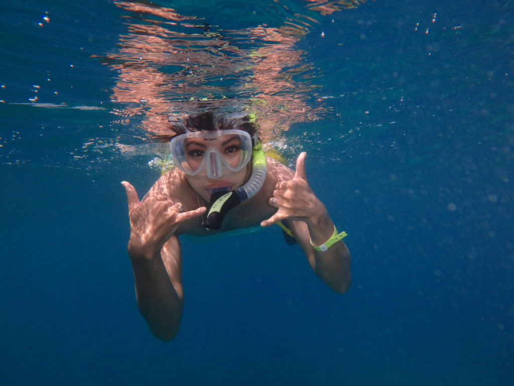 snorkeling in molokini crater and turtle town quicksilver maui