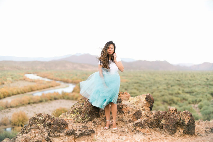 bliss tulle Juliet skirt