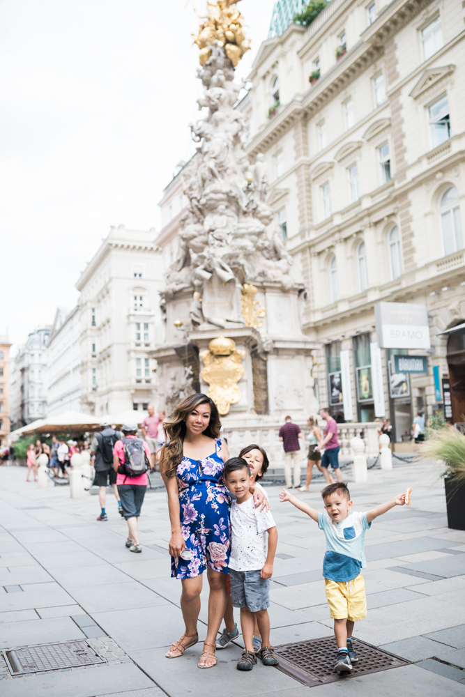 Vienna family of five vacation