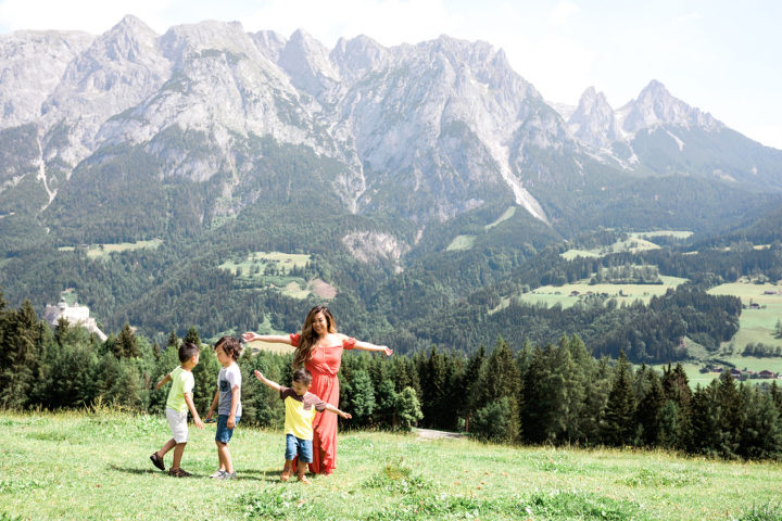 sound of music trail werfen