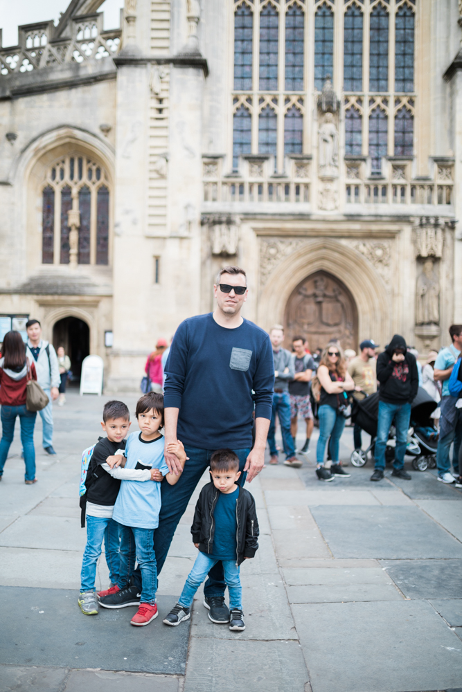 family of five vacation London